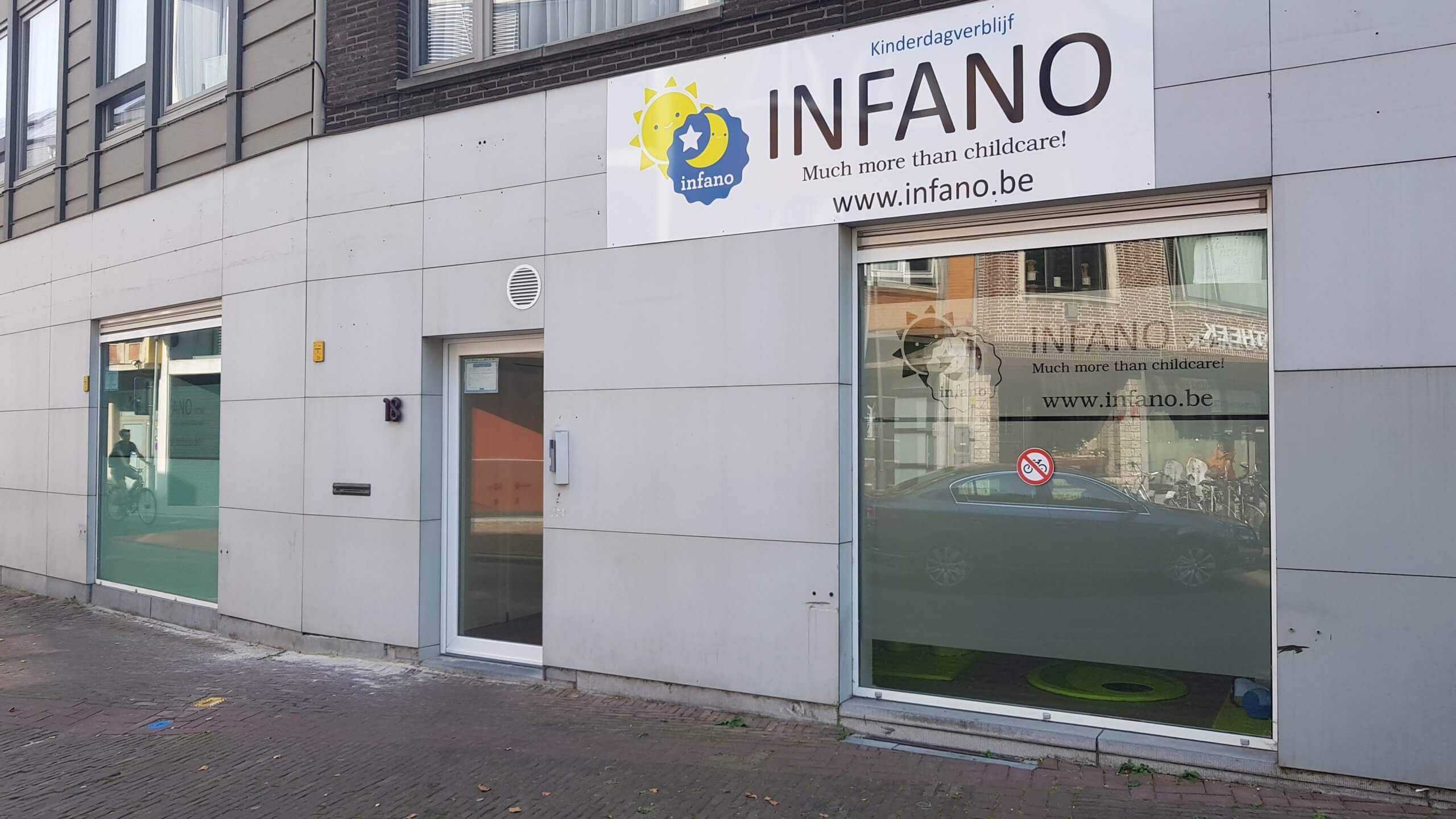 Infano zon Sint-Niklaas Houtbriel kinderopvang